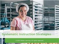 Systematic Instruction Strategies